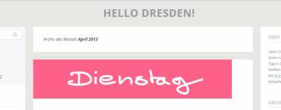 Screenshot Hello Dresden