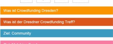 erste Webseite Crowdfunding Sachsen