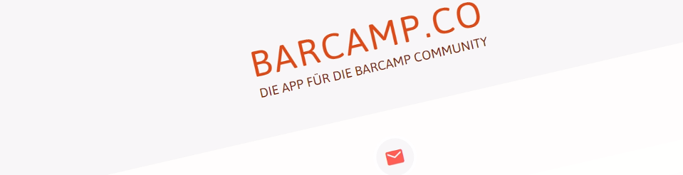 Barcamp Community App