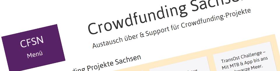 Crowdfunding Sachsen