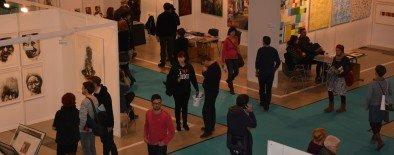 Tweetup zur Künstlermesse